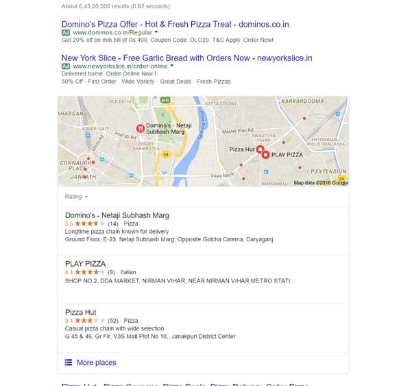 search-pizza-on-Google