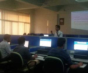 Digital Marketing Session at IP University