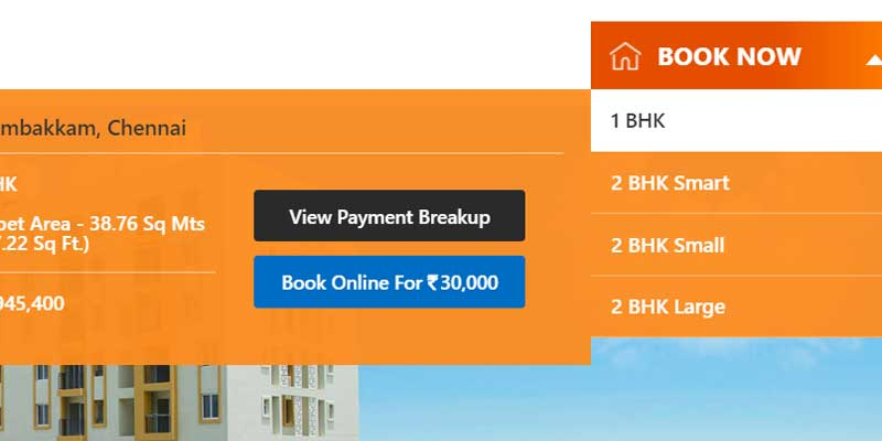 Real Estate Online Booking