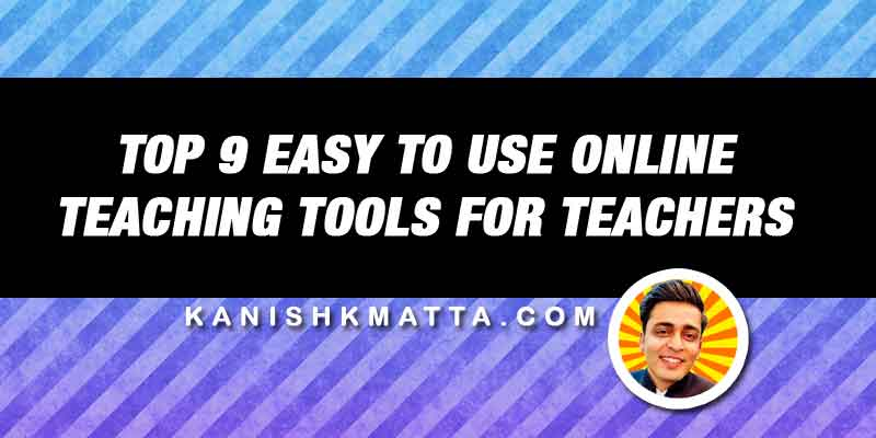 Online Teaching Tools