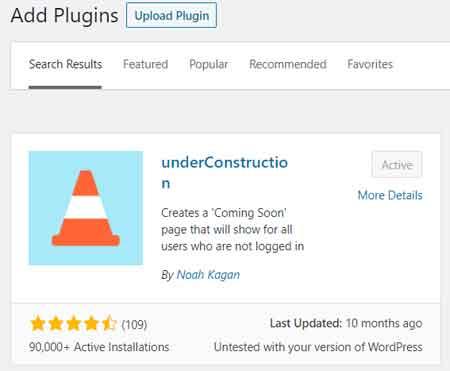 Best Under Construction WordPress Plugin